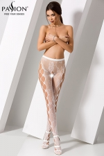 Collants ouverts S008 - Blanc