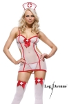 Costume Nightshift Nurse - Costume transparent d'infirmi�re... de nuit !