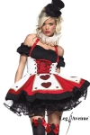 Costume Pretty playing Card - Un costume de charme pour joueuse de cartes avertie !